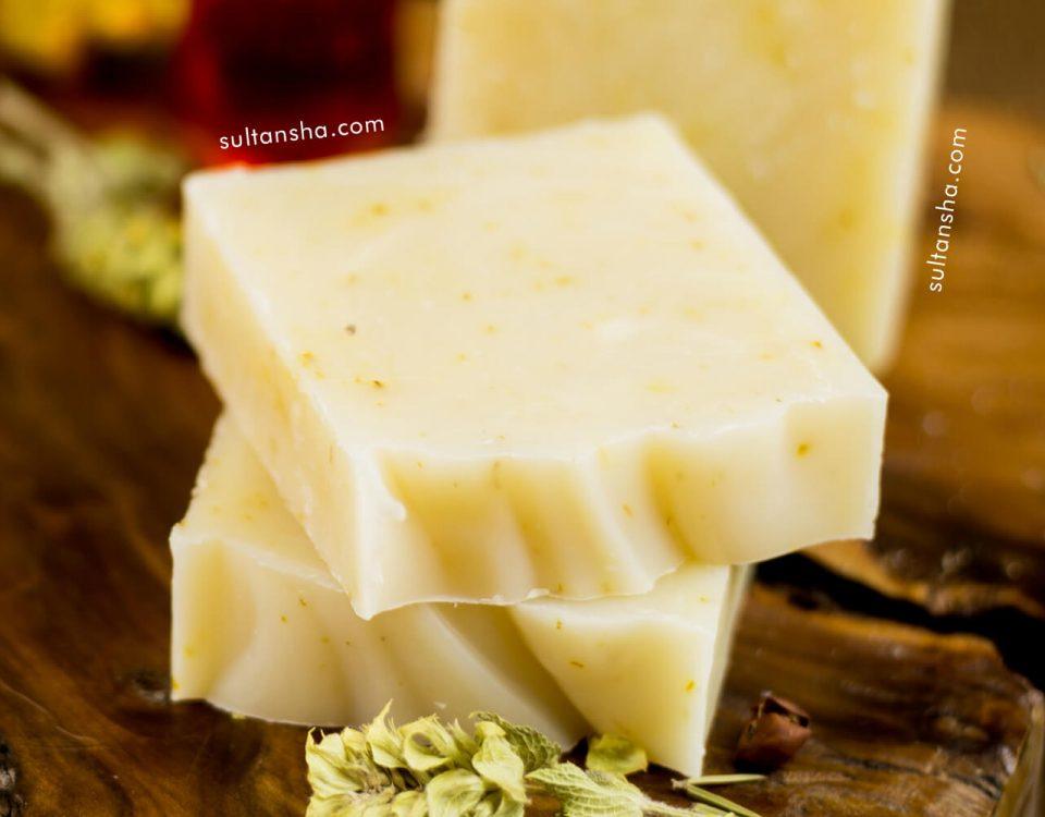 doğal gül sabunu