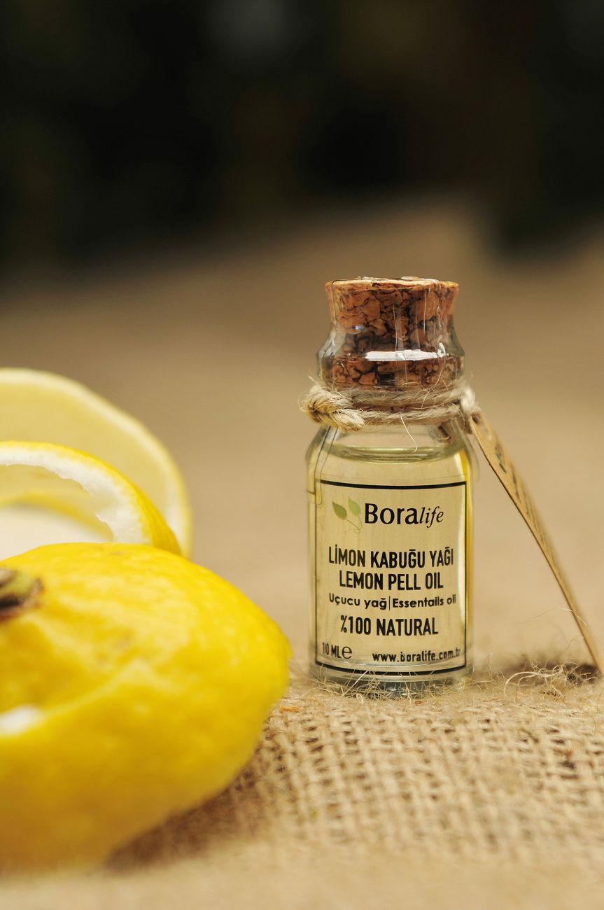 Limon Kabuğu Yağı 10 ml