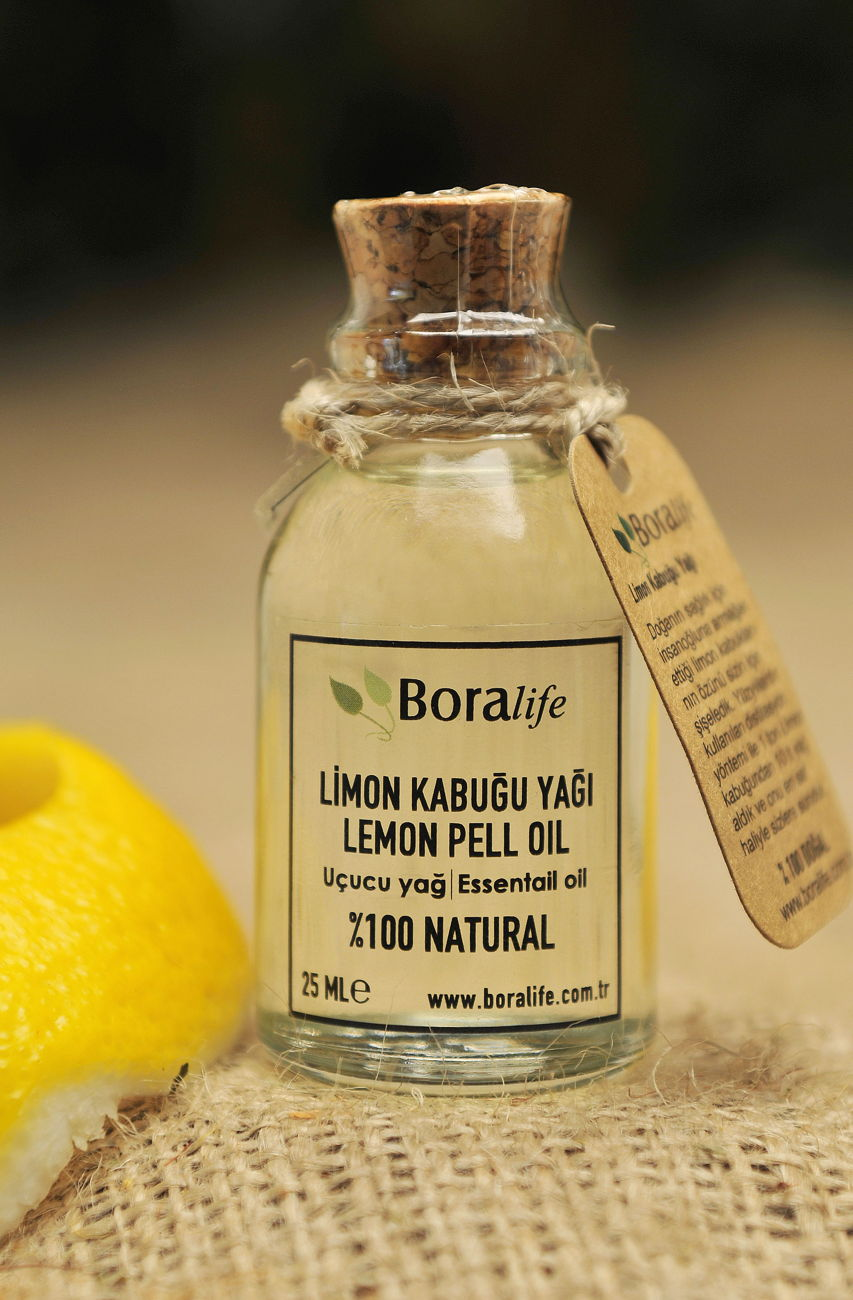 Limon Kabuğu Yağı 25 ml