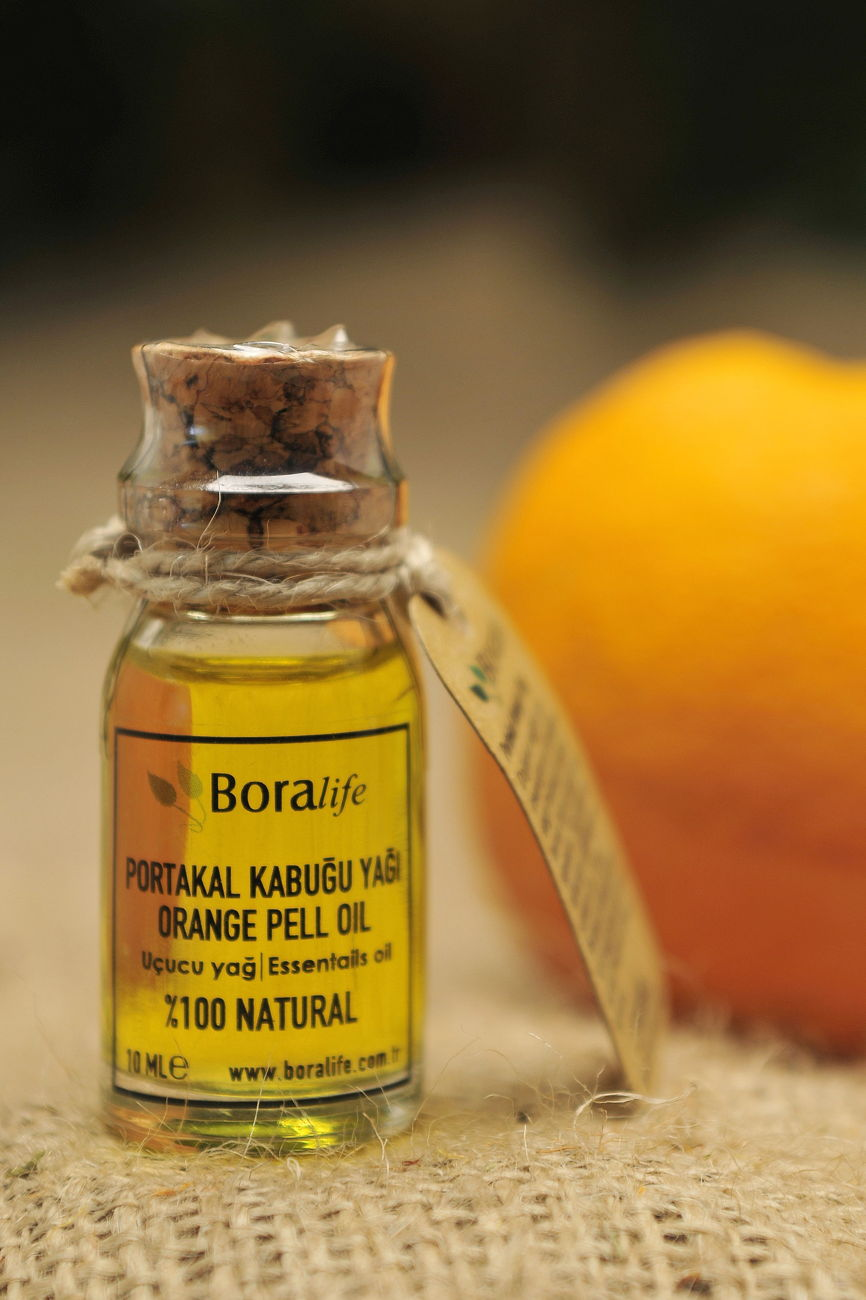 Portakal Kabuğu Yağı 10 ml