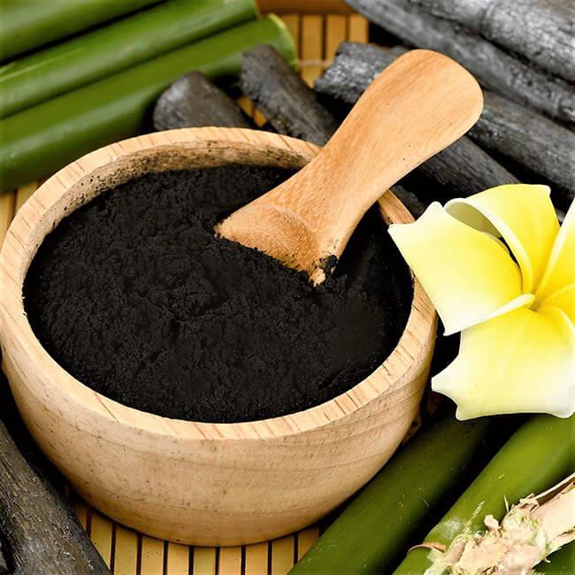 Aktif bambu kömürü